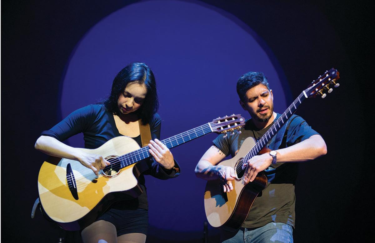 Pajas musicales: Rodrigo y Gabriela