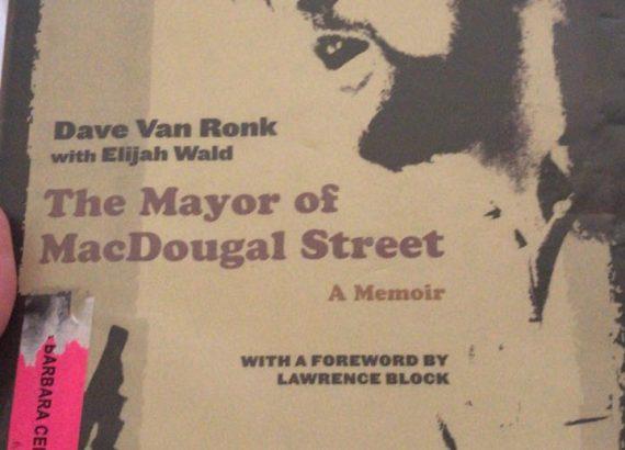 Libro sobre la vida de Dave Van Ronk