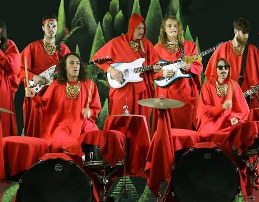 Pajas musicales: King Gizzard and the lizard wizard